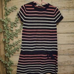 H&M girls striped sweater dress